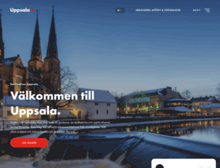 destinationuppsala.se screenshot