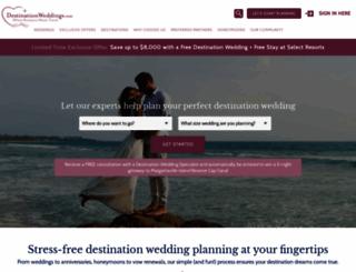 destinationweddings.com screenshot