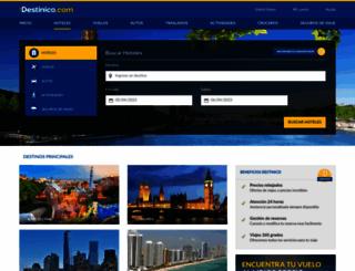 destinico.com screenshot