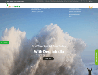 destinindia.com screenshot