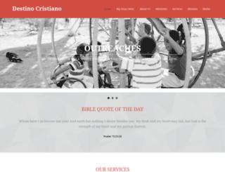 destinocristiano.com screenshot