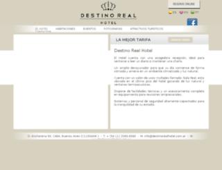 destinorealhotel.com.ar screenshot
