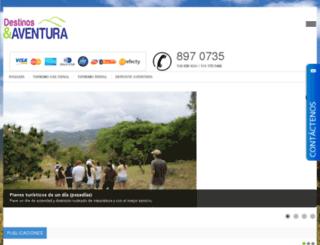 destinosyaventuras.com screenshot