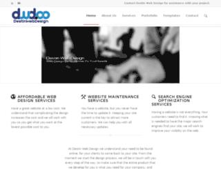destinwebdesign.co screenshot