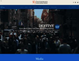 destiny.tdjakes.com screenshot