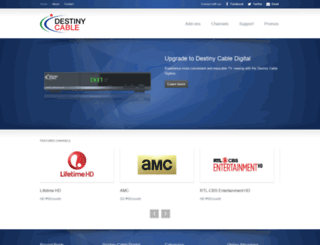 destinycable.com.ph screenshot