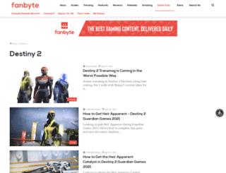 destinydb.com screenshot
