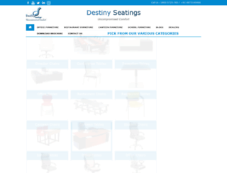 destinyseatings.com screenshot