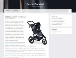 destinysurvival.com screenshot