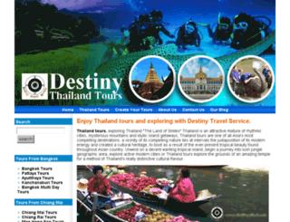 destinythailand.com screenshot