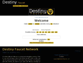 destinyxpm.com screenshot