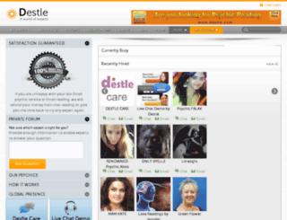 destle.co.uk screenshot