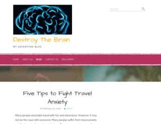 destroythebrainonline.com screenshot