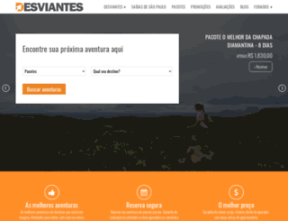 desviantes.com.br screenshot