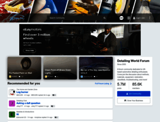 detailingworld.co.uk screenshot