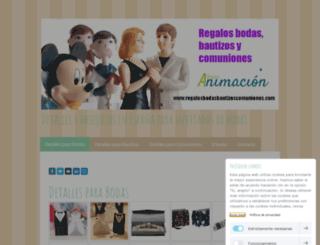 detallesparabodas.jimdo.com screenshot