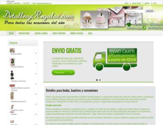 detallesyregalos.com screenshot