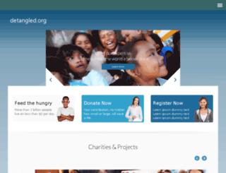 detangled.org screenshot