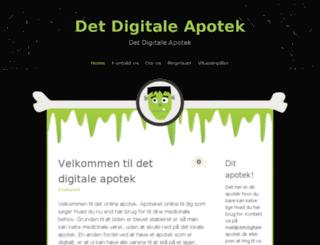 detdigitaleapotek.dk screenshot