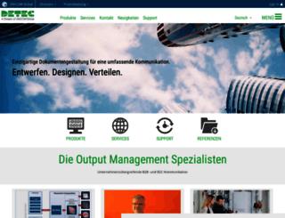 detec.de screenshot