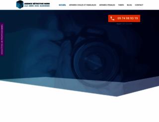 detective-nord.fr screenshot
