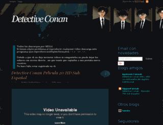 detectiveconanspanish.blogspot.com screenshot