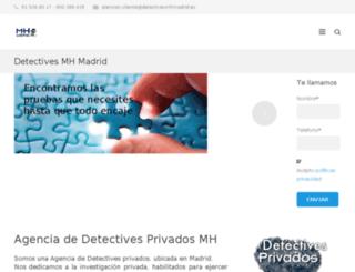 detectivesmhmadrid.es screenshot