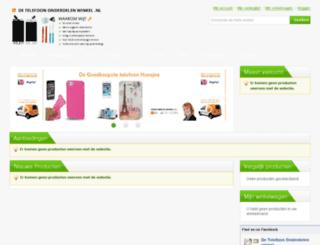 detelefoononderdelenwinkel.nl screenshot