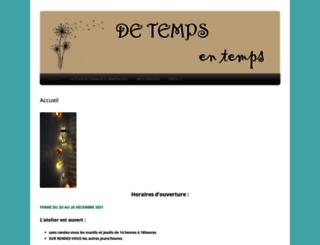 detemps-entemps.com screenshot