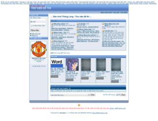 dethi.dhthanglong.net screenshot