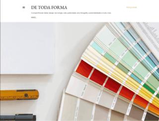 detodaforma.blogspot.com.br screenshot