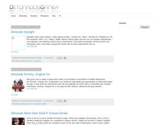 detonadosgamer.blogspot.com screenshot