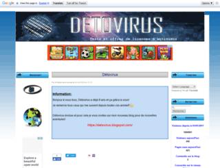detovirus.eklablog.fr screenshot