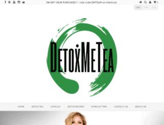 detoxmetea.com.au screenshot
