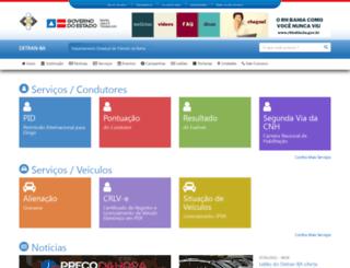 detran.ba.gov.br screenshot