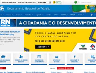 detran.rn.gov.br screenshot