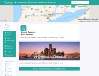 detroit.doctoroogle.com screenshot