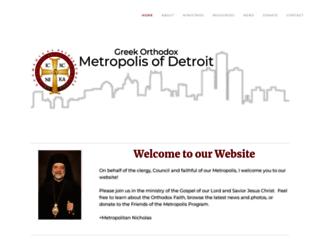 detroit.goarch.org screenshot