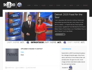 detroit2020.com screenshot