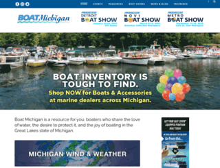 detroitboatshow.net screenshot