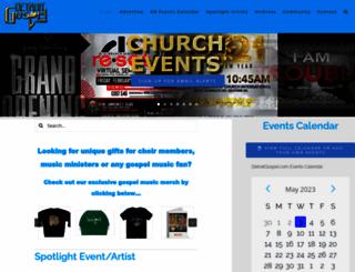 detroitgospel.com screenshot