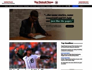 detroitnews.com screenshot