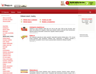 detske-obchody.shopy.cz screenshot