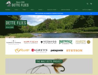 detteflies.com screenshot