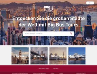 deu.bigbustours.com screenshot