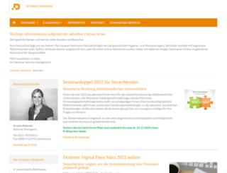 deubner-akademie.de screenshot