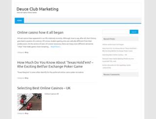 deuceclubmarketing.com screenshot
