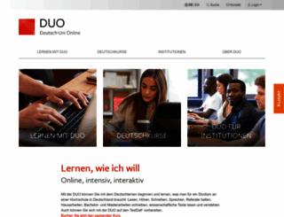 deutsch-uni.com screenshot