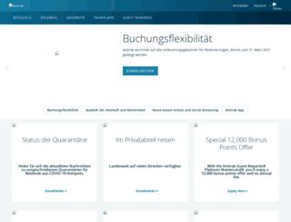 deutsch.amtrak.com screenshot