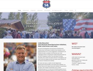 deutschamerikanischesvolksfest.de screenshot